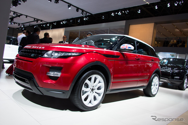 Land Rover Range Rover イヴォーク 'SW1 Special Edition' (14 at the Paris Motor Show)