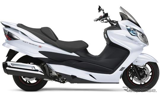Suzuki SkyWave 400 type S ABS