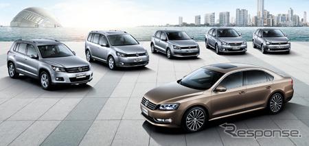 Flagship models of Volkswagen's Chinese joint ventures, Shanghai Volkswagen
