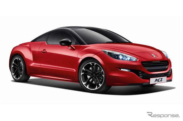 Peugeot RCZ red carbon