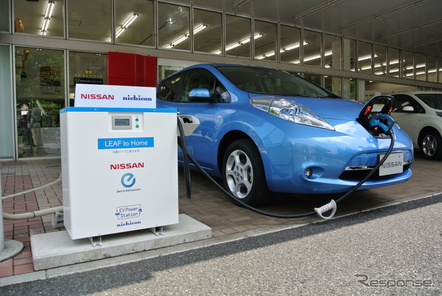 Nissan LEAF to Home