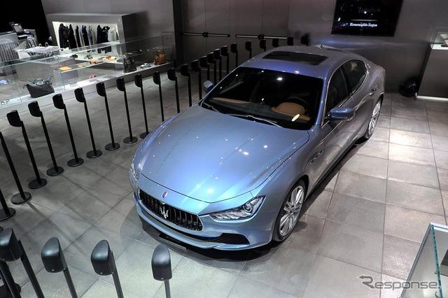 Maserati Ghibli Ermenegildo Zegna (14 at the Paris Motor Show)