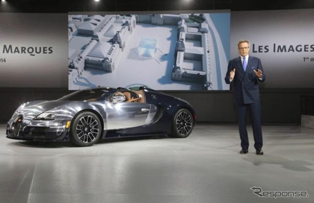 Bugatti Veyron (14 at the Paris Motor Show)