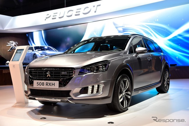 Peugeot 508 RXH improved new (14 at the Paris Motor Show)