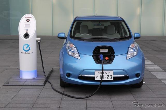 Nissan leaf (reference image)