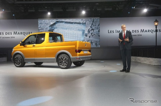 Volkswagen TriStar (14 at the Paris Motor Show)
