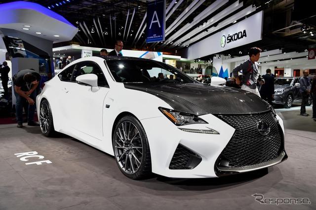 Lexus RC F (2014 Paris Motor Show)