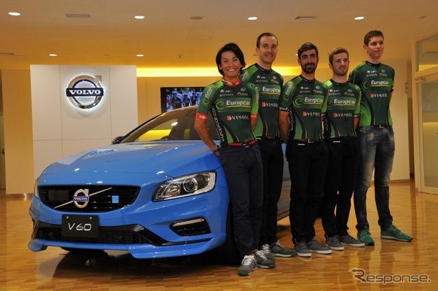 V60 Polestar x team Europe car