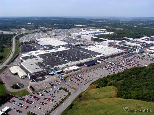 Volvo cars of Sweden toucherund factory