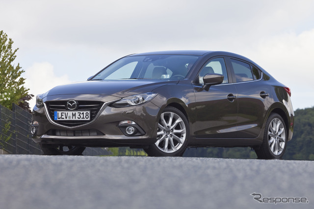 The all-new Mazda 3 (Axela) 4-door sedan