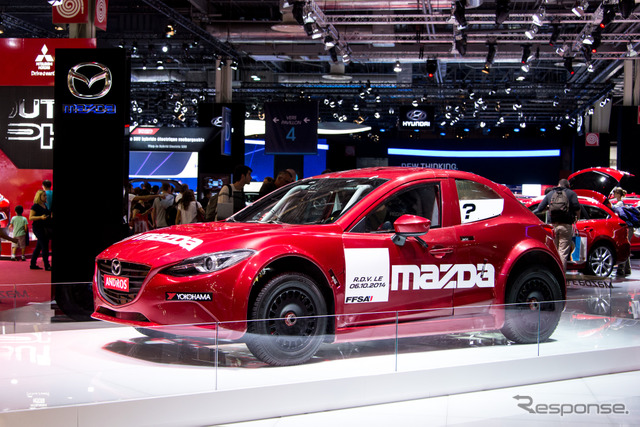 Mazda 3 Ice Racer at 2014 Paris Motor Show
