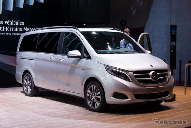 Mercedes-Benz V class (14 at the Paris Motor Show)