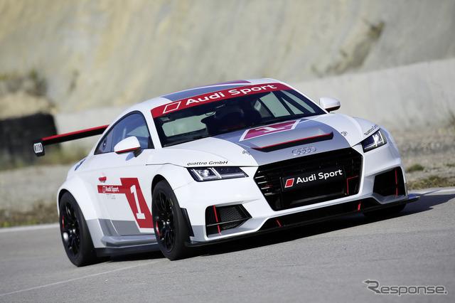 Audi Sport TT Cup racing machine