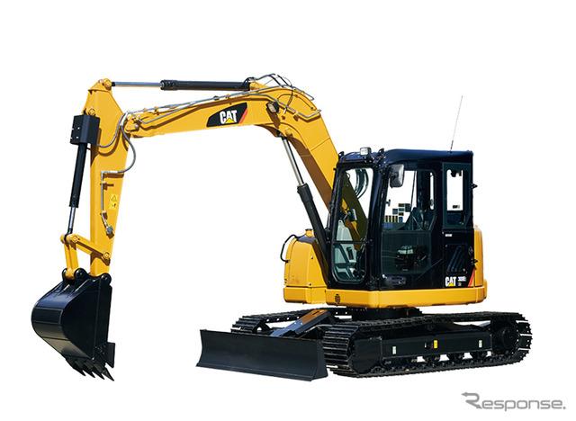 หนอนผีเสื้อแมว 308E2 CR หลังหมุนเล็กพิมพ์ excavators ไฮดรอลิก