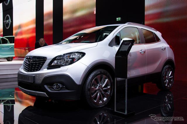 Opel Mocha 1.6 CTDI (14 at the Paris Motor Show)