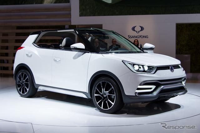 Ssangyong XIV-Air concept (14 at the Paris Motor Show)