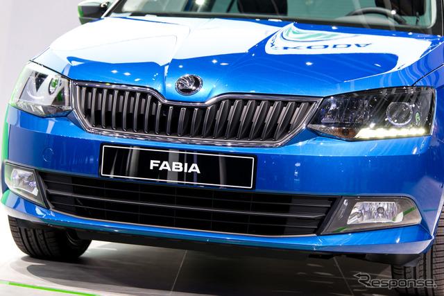 Skoda new Fabia (14 at the Paris Motor Show)