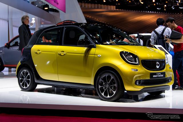Smart forfour (14 at the Paris Motor Show)