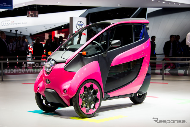 Toyota i-Road (14 at the Paris Motor Show)