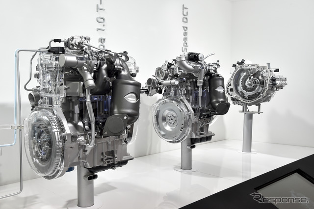 New development of Hyundai 1.0 Turbo and 7-speed dual-clutch (14 at the Paris Motor Show)