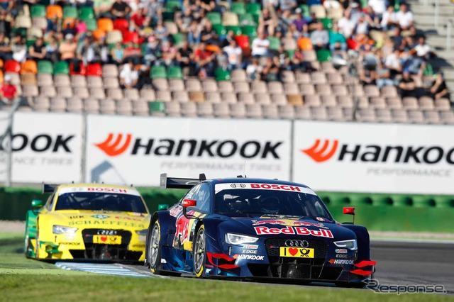 Audi, DTM final podium