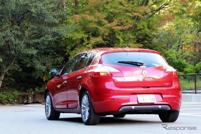 Renault Megane hatchback GT line