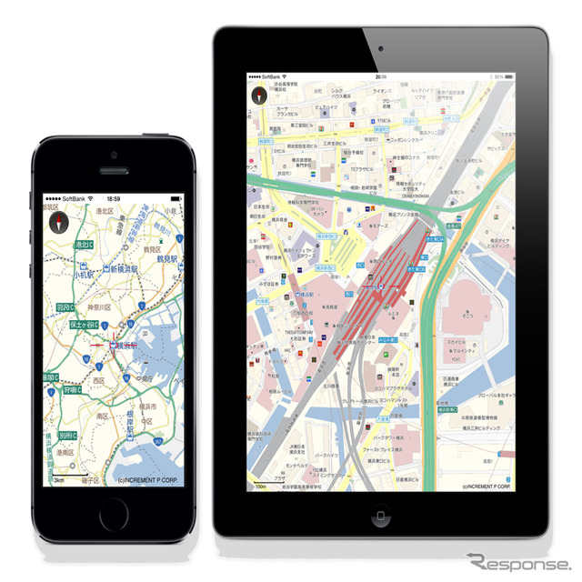 MapFan SDK (iOS version)