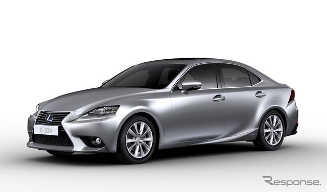 Hybrid new Lexus IS, IS 300 h (European spec)