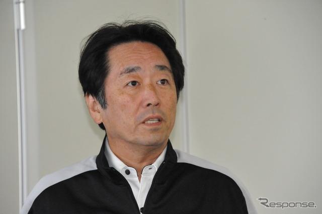 TEAM infinity Katsumata Satoshi entrants representative (, 23, sodegaura city, Chiba Prefecture )