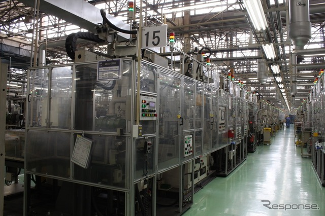 Sagamihara area turbocharger plant Most of the cartridge Assembly automation