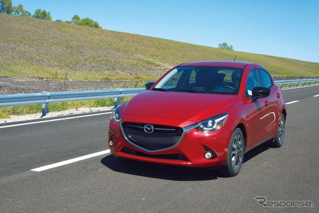 New Mazda 2 was produced by MMVO ( Demio )