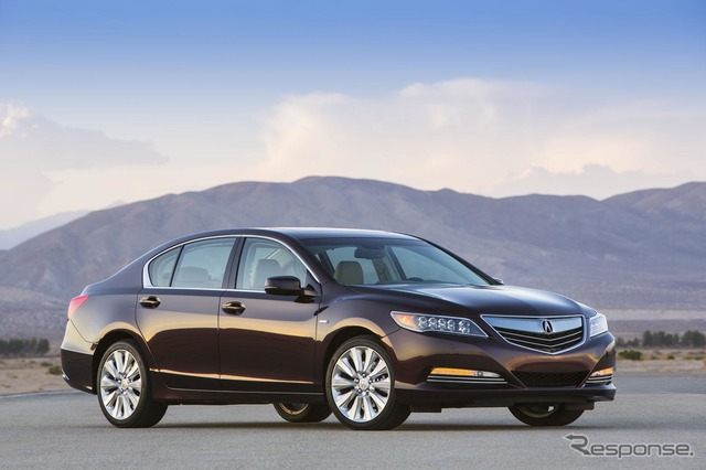 Be the next legend and Acura RLX (reference image)