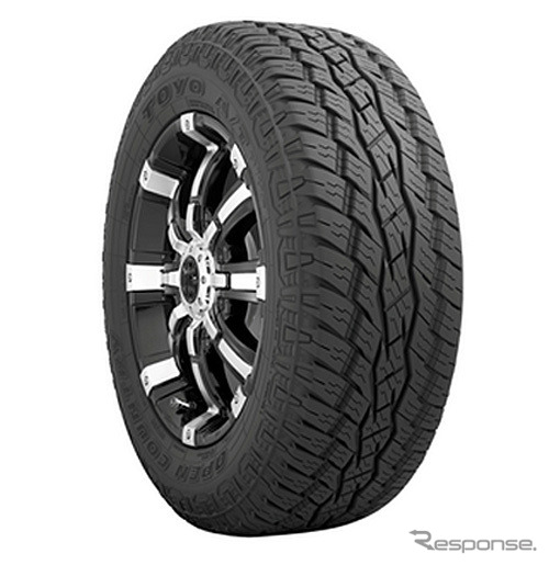 Rubber Toyo open country A/T-plus