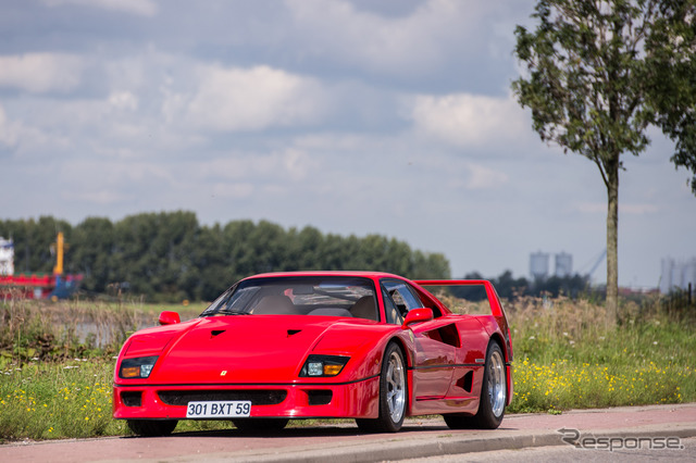 Was once owned by former F1 driver Nigel Mansell's Ferrari F40