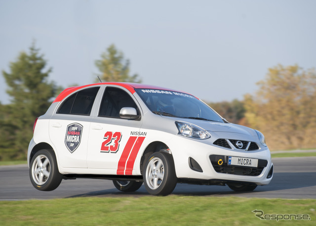 Nissan Micra (March) Cup race car
