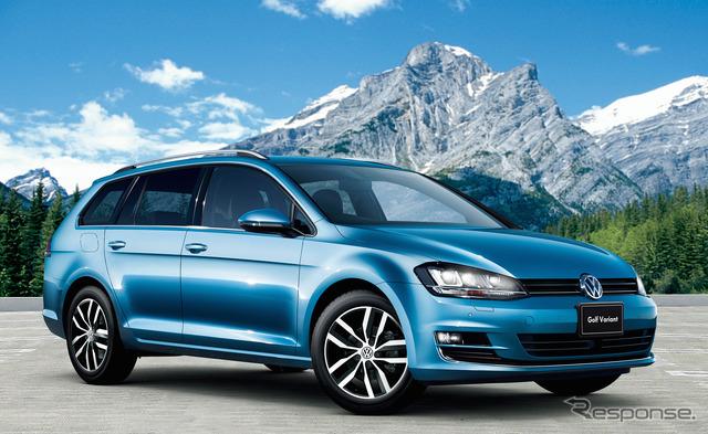 VW Golf variant TSI Highline