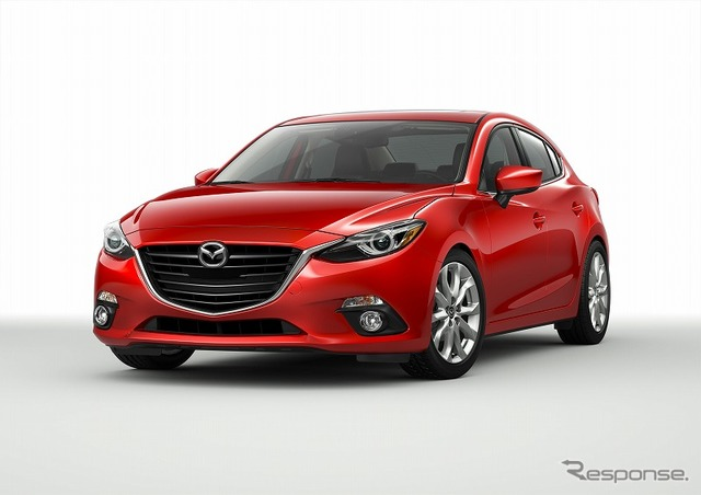 The all-new Mazda 3 (Axela) sedan