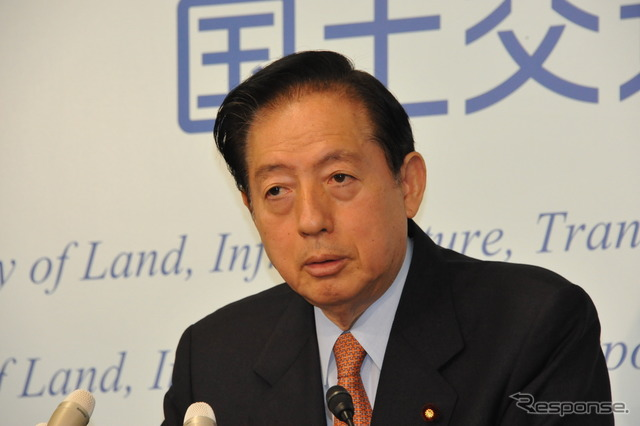 Talk about OTA Akihiro Minister automotive related award ( 28 Ministry )