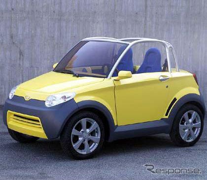 中国製のプラスチックカー、ジウジアーロ デザインで欧州上陸