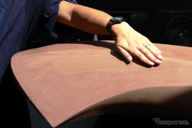 Mazda soul motion design cutting work