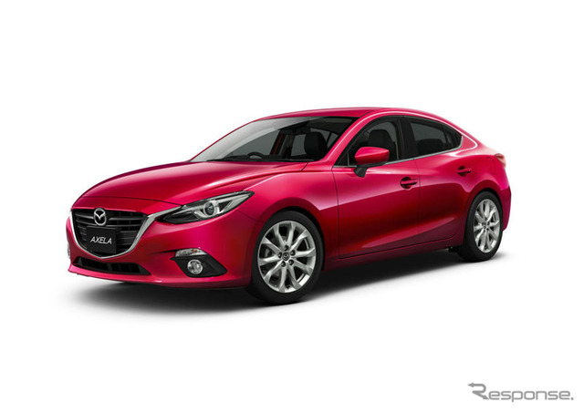 Mazda to improve the hybrid model of Axela to equip collision avoidance system