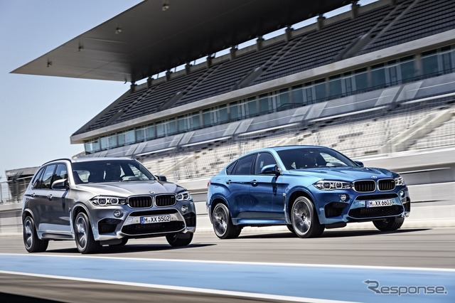 New BMW X5M and X6M
