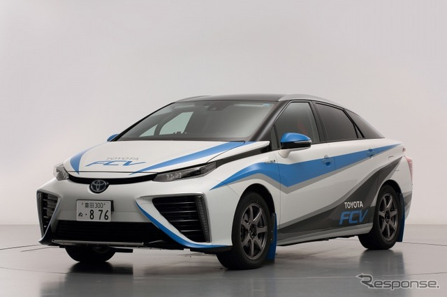Toyota FCV rally specifications