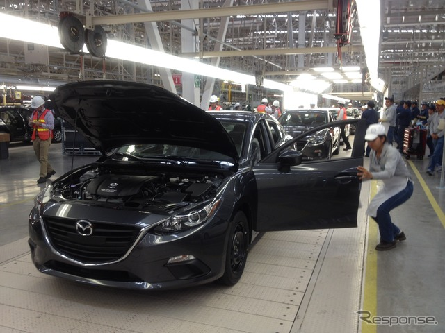 Mazda launched 1/14 to Mexico factory