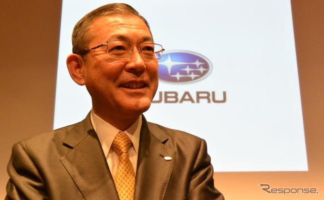 Fuji Heavy Industries Ltd. Yoshinaga, Masayuki President