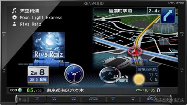 Kenwood-Sai-speed Navi MDV-Z700 (reference image)
