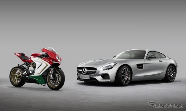 MV Agusta F3 800 Ago and Mercedes - AMG GT