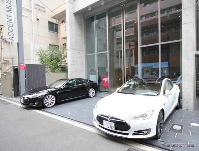 Limited time new-store openings to Tesla Motors, Osaka