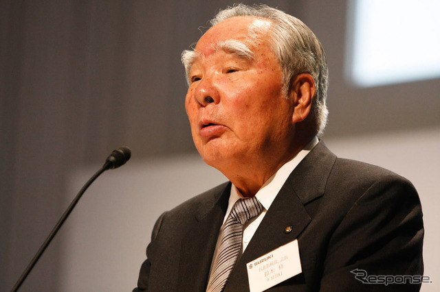 Suzuki Osamu Suzuki, Chairman (reference image)