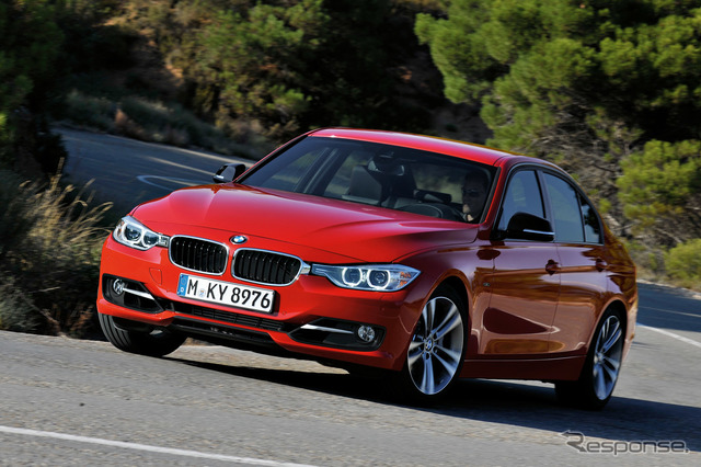BMW 3 Series Sedan (reference image)